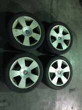 Vy Calais 17 inch wheels and tyres Thornton Maitland Area Preview