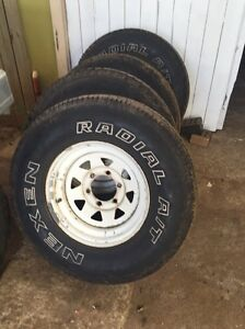 4x4 tyres and rims Woody Point Redcliffe Area Preview