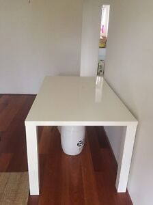 6 seater White Tupac dining table from Amart South Coogee Eastern Suburbs Preview