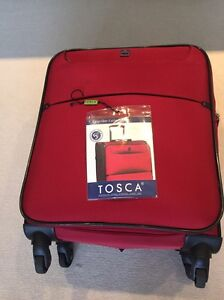 Tosco Suitcase Red 48cm Dee Why Manly Area Preview