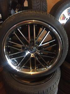 "Golf gti vw Audi A4 a3 18"" wheels 5 112 mercedes rims Waterford Logan Area Preview"