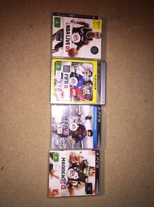 PS3 Games x 4 Thornton Maitland Area Preview