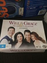 Will & Grace complete collection. Coomera Gold Coast North Preview