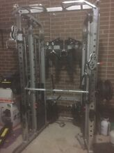 Gym equipment weights and monsterG6 trainer Sunbury Hume Area Preview