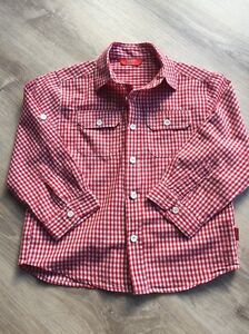 Boy's checked shirt from Rhubarb Lynbrook Casey Area Preview