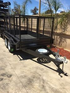 Heavy duty 9x5 tandem with H/D 3ft crate Swan Hill Swan Hill Area Preview