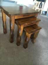 3 piece coffee/side tables Burswood Victoria Park Area Preview