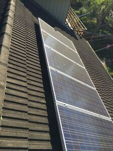 1kW of Sharp solar panels and Inverter - Dismantled Pymble Ku-ring-gai Area Preview