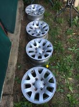 """MAZDA BT50 STANDARD 16"""" ALLOY WHEELS Ambarvale Campbelltown Area Preview"""