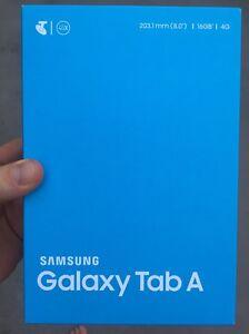 Samsung Galaxy Tab A, 8 inch, 16GB, WiFi+4GX Windsor Brisbane North East Preview