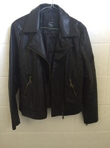 Black Leather Jacket women Freshwater Manly Area Preview