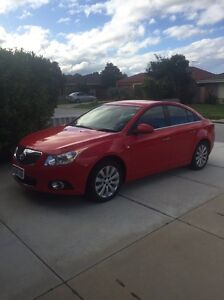 2013 HOLDEN CRUZE JH SERIES II MY13 CDX SEDAN 4DR SPORT Kenwick Gosnells Area Preview