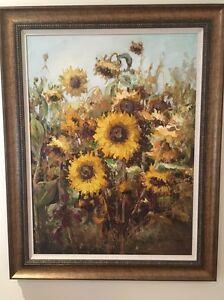 Sunflower Oil Painting Mosman Mosman Area Preview