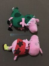 Large Peppa Pig and George plush toys Kyabram Campaspe Area Preview