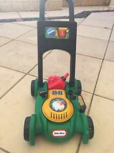 LITTLE TIKES GAS AND GO MOWER Mawson Lakes Salisbury Area Preview
