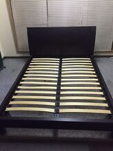 $50 Queen Sized Sled Bed Athelstone Campbelltown Area Preview