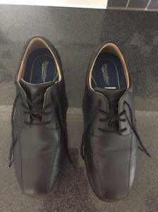 Blundstone Black Leather Steel Cap Shoes/Boots (Business Wear) Hammond Park Cockburn Area Preview