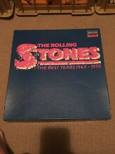 THE ROLLING STONES - THE BEST YEARS 1963 -1970 BOXSET 11 LP RECORDS Colo Vale Bowral Area Preview
