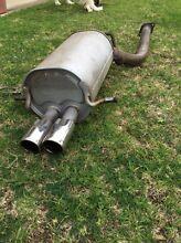 My00 wrx stock muffler Golden Grove Tea Tree Gully Area Preview
