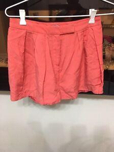 Kookai salmon coral dress shorts size 34 Xs 6 Lane Cove North Lane Cove Area Preview