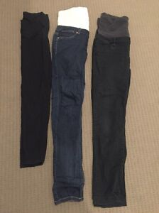 2 x size 12 jeans west maternity jeans and Kmart leggings Revesby Bankstown Area Preview