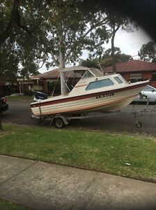 Boat Johnson 70hp Georges Hall Bankstown Area Preview