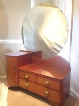 Beautiful antique dresser with large mirror. North Epping Hornsby Area Preview