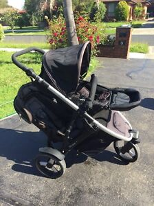 Double Pram Strider Plus-Very Good Condition-choice Of 3/4 Wheels Keilor Downs Brimbank Area Preview