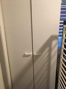 White two door cupboard Lilydale Yarra Ranges Preview