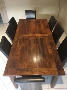 Brittany ext/ dining table Wantirna Knox Area Preview
