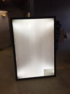 12 x Light box Signs - BRAND NEW - Power socket plug Northgate Brisbane North East Preview