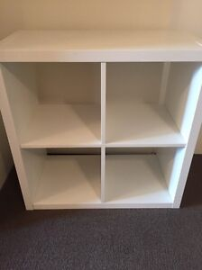 White IKEA storage cube Crows Nest North Sydney Area Preview