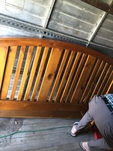 Solid wood queen bedroom suite Bexley Rockdale Area Preview