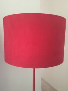 Red floor lamp  (salt & pepper brand) Toowong Brisbane North West Preview