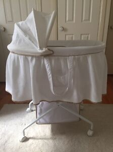 Bassinet, stand and mattress Ashgrove Brisbane North West Preview