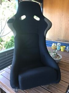 Velo GP90 fixed back race seat and seat rails to suit s13 s14 Hilton Fremantle Area Preview