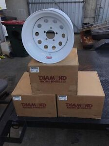 Drift / Drag racing wheels, 5x120 commodore. Scarborough Redcliffe Area Preview