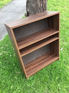 Small timber venerer book shelf Macleod Banyule Area Preview