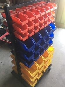 Rolling rack mounted storage containers Alice Springs Alice Springs Area Preview