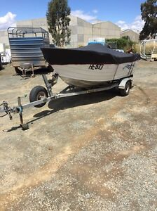 Boat and trailer Mooroopna Shepparton City Preview