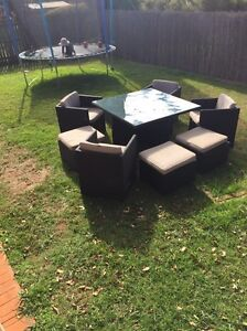 Outdoor Setting - Space Saver 9 piece. Middle Ridge Toowoomba City Preview