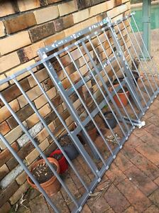 Aluminium single bed frame 1 year old Belrose Warringah Area Preview