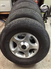 100 series land cruiser gxl wheels and tyres Lauderdale Clarence Area Preview