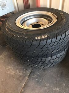 Toyota Land Cruiser wheels & tyres Sinagra Wanneroo Area Preview