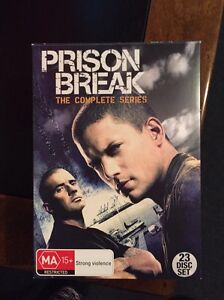 Prison break DVD entire series East Maitland Maitland Area Preview