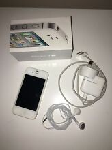 IPhone 4S 16gb (White) Walkerville Walkerville Area Preview