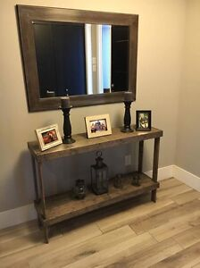 Rustic hall tables, tables, shelf, tv stand