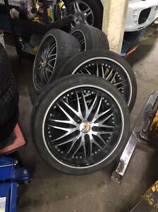 "20"" alloy wheels 10 hole x4 rims with or without tyres ford/holden Gloucester Gloucester Area Preview"