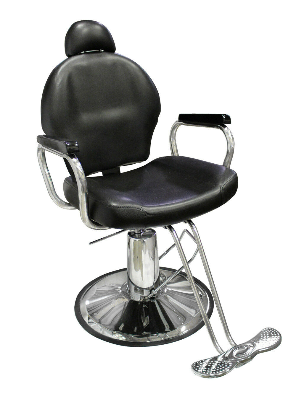 New reclining hydraulic barber chair salon styling beauty for Accessories for beauty salon