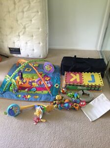 Bulk lot of baby items. Playmat, baby mobile and more North Maclean Logan Area Preview